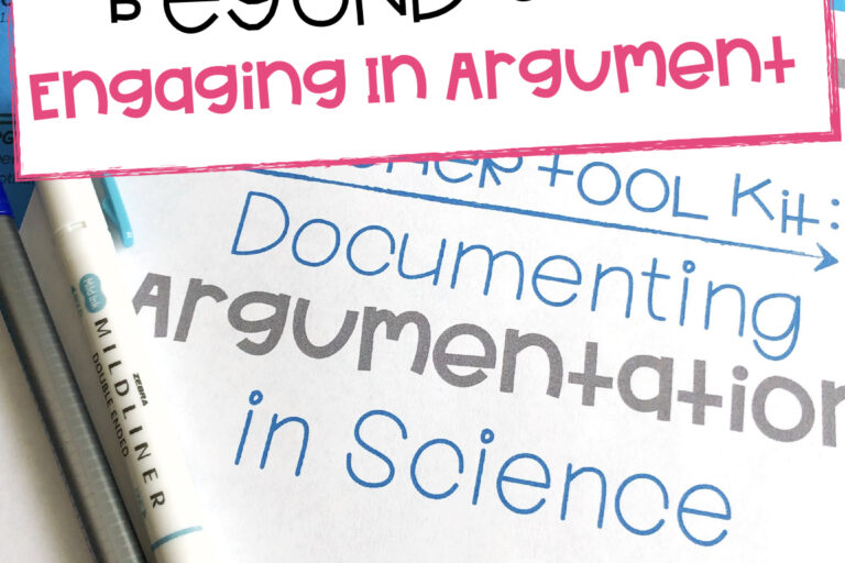 Moving Beyond C-E-R: Arguing From Evidence