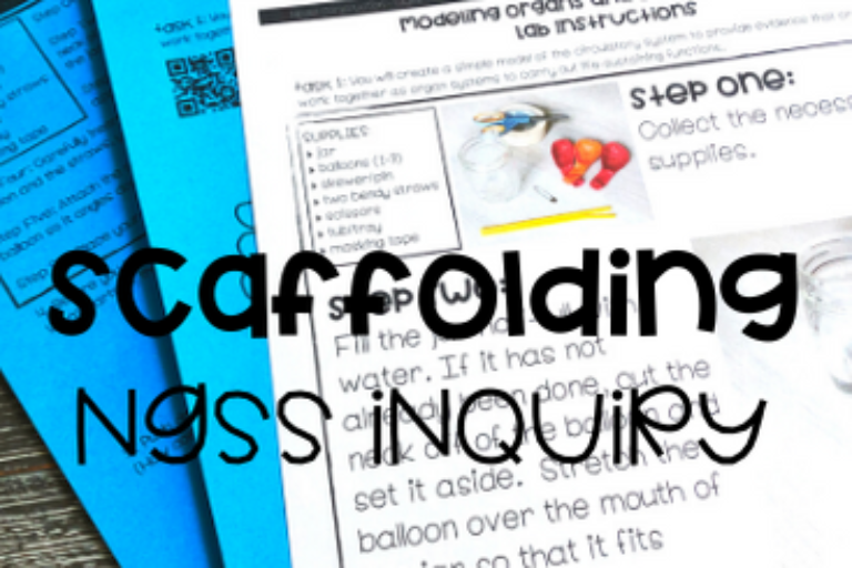Scaffolding NGSS Inquiry: Investigating The Body As A System (MS-LS1-3)