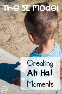 "What does instruction in an NGSS classroom REALLY look like? Create ""ah ha!"" moments for students with the 5E Model."