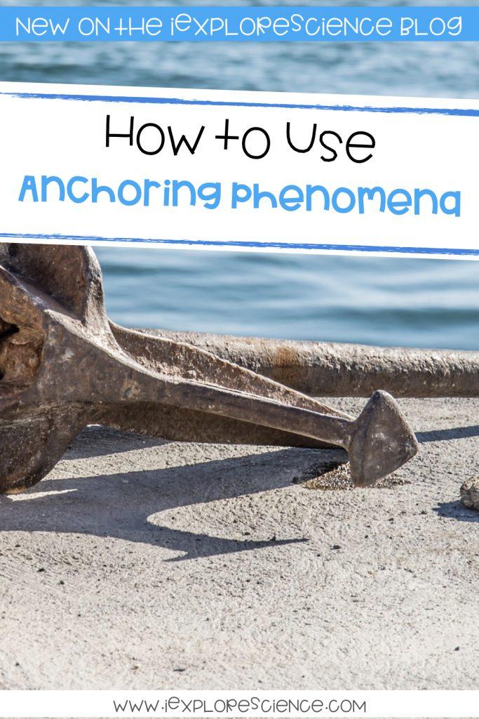 anchor phenomenon