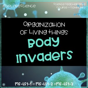 organization of living things. Body invaders