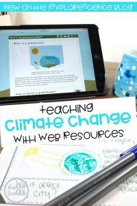 climate change webquest
