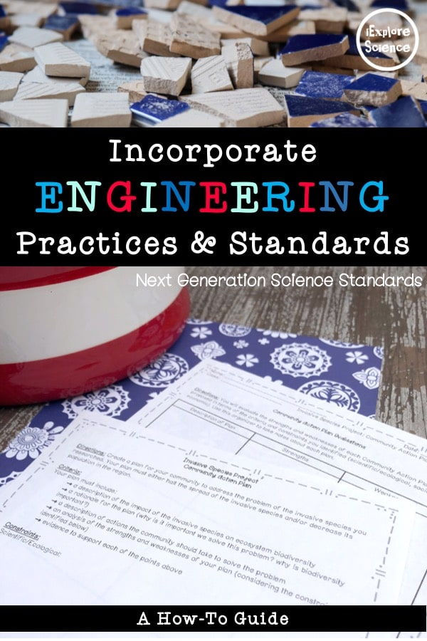 How to integrate engineering into your science curriculum.