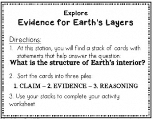 Analyze claims, evidence, and reasoning to learn how scientists know what is inside of Earth in this evidence-based NGSS-aligned 5E Explore activity.